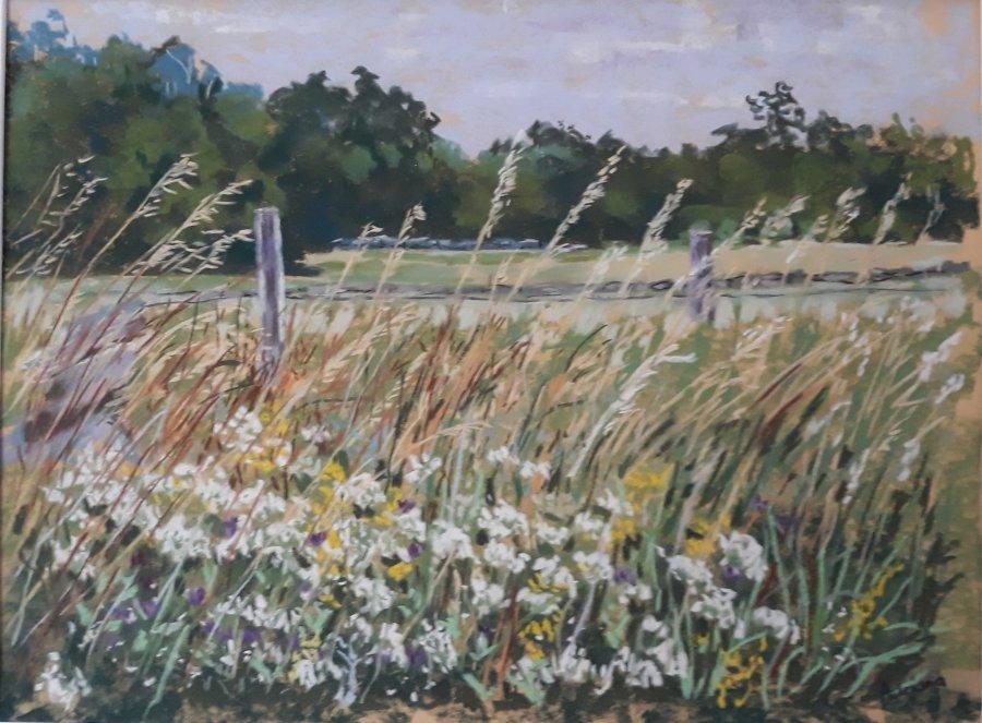 Slatterod-2-pastel-op-papier-30-x-35-cm