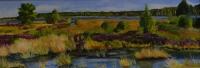 Vennen, olieverf op paneel, 128x50cm