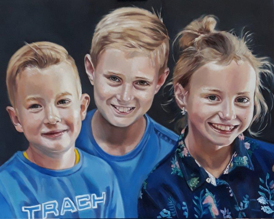 portret-Leander-Joran-en-Sanne-40-x-50-cm-olieverf-op-doek
